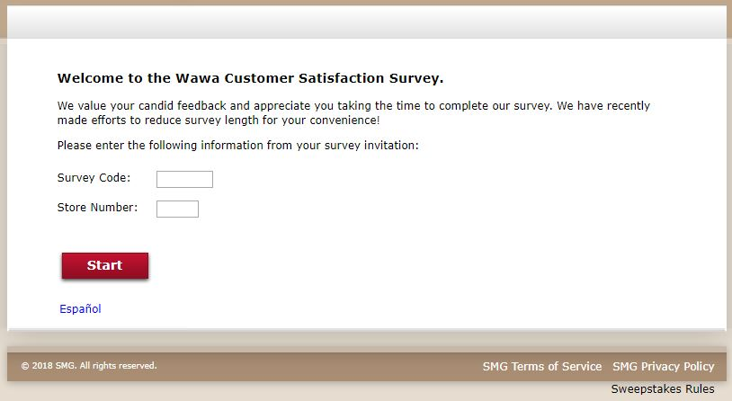 www mywawavisit com Wawa Customer Satisfaction Survey