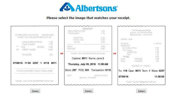 Albertsons  Survey Step By Step Guide