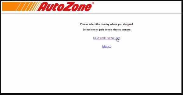 Autozone Customer Satisfaction Survey 1