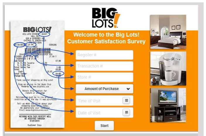 Big Lots Survey Step By Step Guide 2