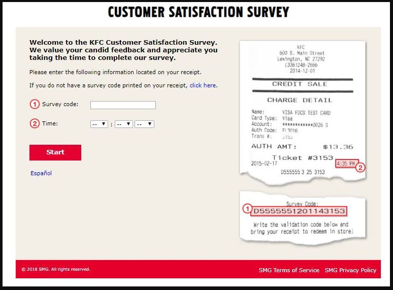 KFC Customer Satisfaction Survey Step By Step Guide