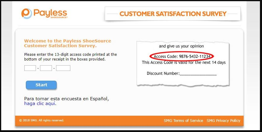 Payless Customer Satisfaction Survey guide