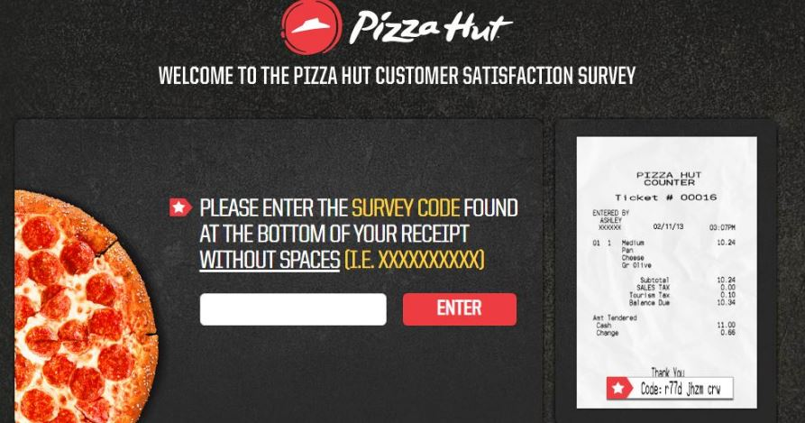 Pizza Hut Guest Experience Survey Step By Step Guide 2