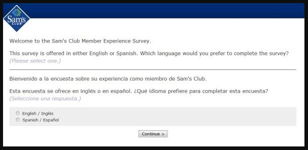 Sams Club Member Experience Survey guide 1
