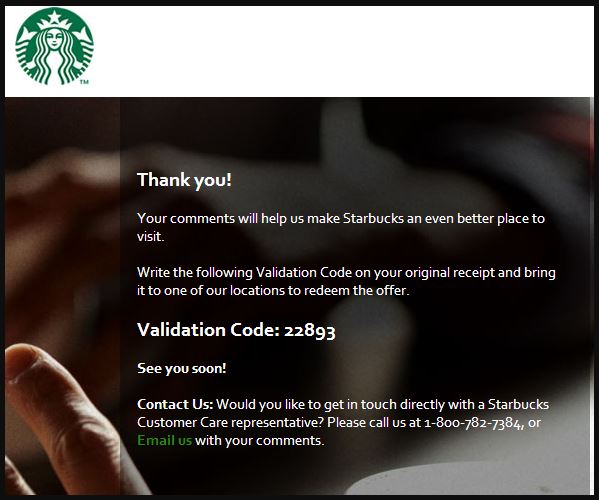 Starbucks Customer Satisfaction Survey guide 4
