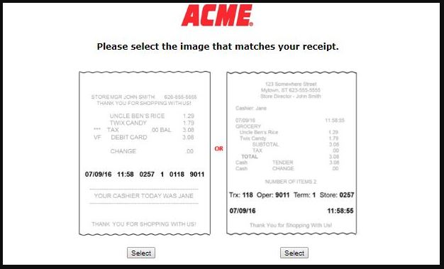 ACME Customer Satisfaction Survey guide 1