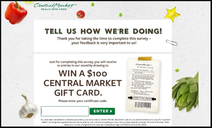 Central Market Survey Customer Satisfaction Survey guide 2