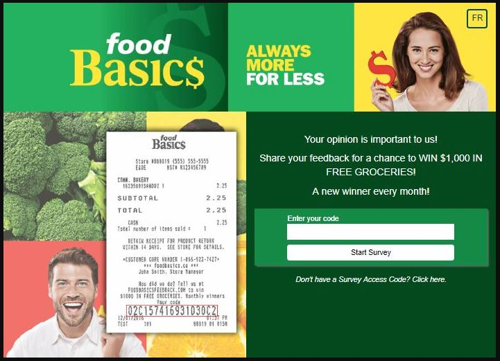 Food Basics Customer Satisfaction Survey guide